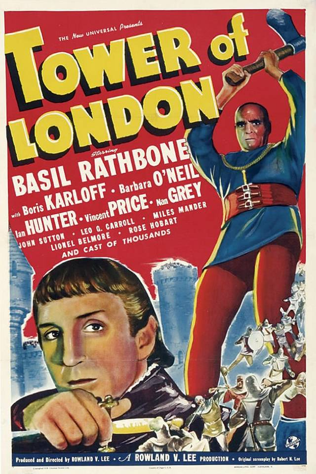 L'usurpatore - Tower of London (1939) Poster USA