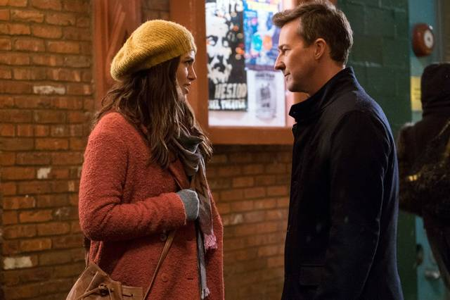 Collateral Beauty Edward Norton Keira Knightley foto dal film 1