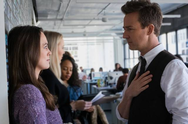 Collateral Beauty Edward Norton Keira Knightley foto dal film 2