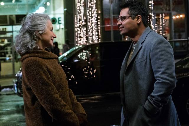 Collateral Beauty Helen Mirren Michael Peña foto dal film 2