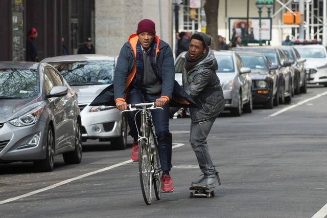Collateral Beauty Jacob Latimore Will Christopher Smith foto dal film 1