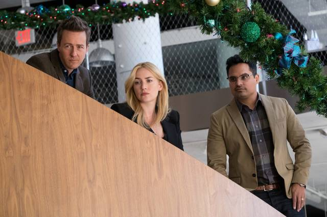 Collateral Beauty Kate Elizabeth Winslet Edward Norton Michael Peña foto dal film 2