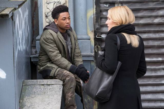 Collateral Beauty Kate Winslet Jacob Latimore foto dal film 1