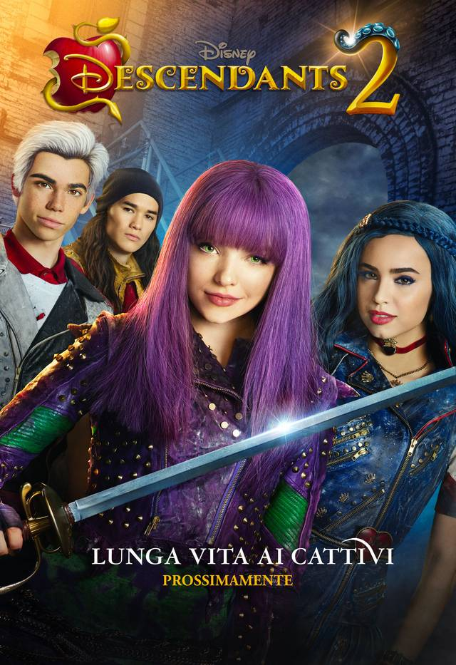 Descendants 2 Teaser Poster Italia