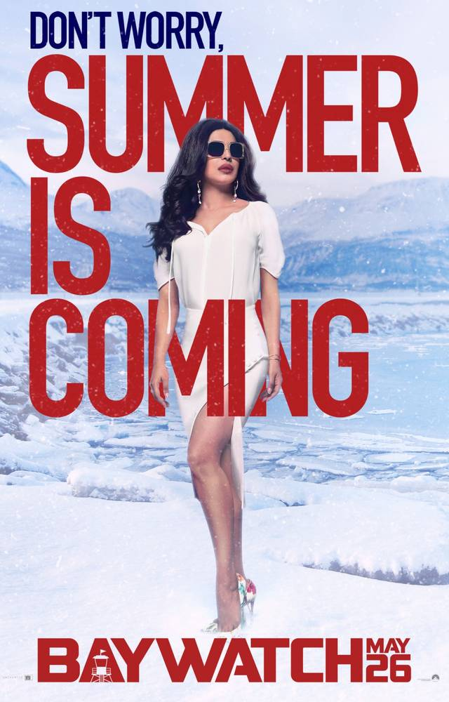 Baywatch Teaser Character Poster USA 4