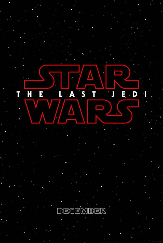 Star Wars - The Last Jedi Teaser Poster USA