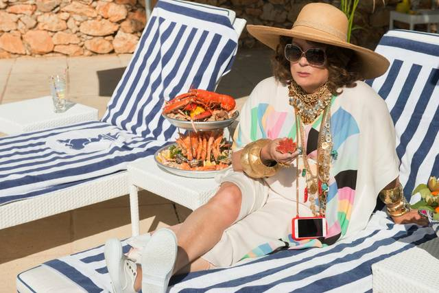 Absolutely Fabulous - The Movie Jennifer Saunder foto dal film 2