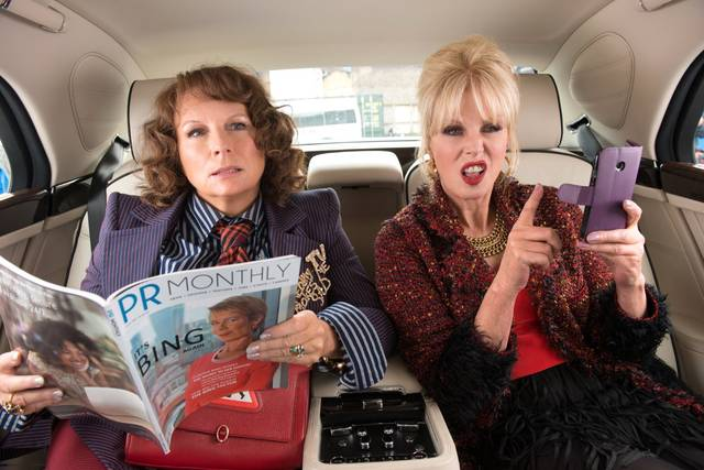Absolutely Fabulous - The Movie Jennifer Saunders Joanna Lumley foto dal film 16