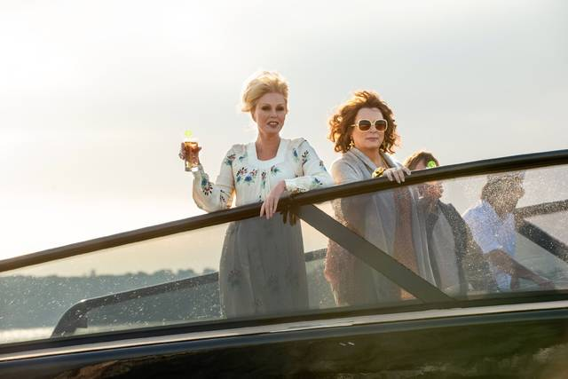 Absolutely Fabulous - The Movie Jennifer Saunders Joanna Lumley foto dal film 2