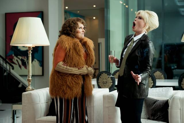 Absolutely Fabulous - The Movie Jennifer Saunders Joanna Lumley foto dal film 3