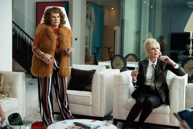 Absolutely Fabulous - The Movie Jennifer Saunders Joanna Lumley foto dal film 6