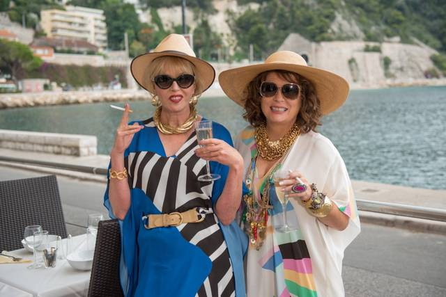 Absolutely Fabulous - The Movie Jennifer Saunders Joanna Lumley foto dal film 7