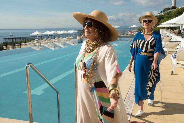 Absolutely Fabulous - The Movie Jennifer Saunders Joanna Lumley foto dal film 8