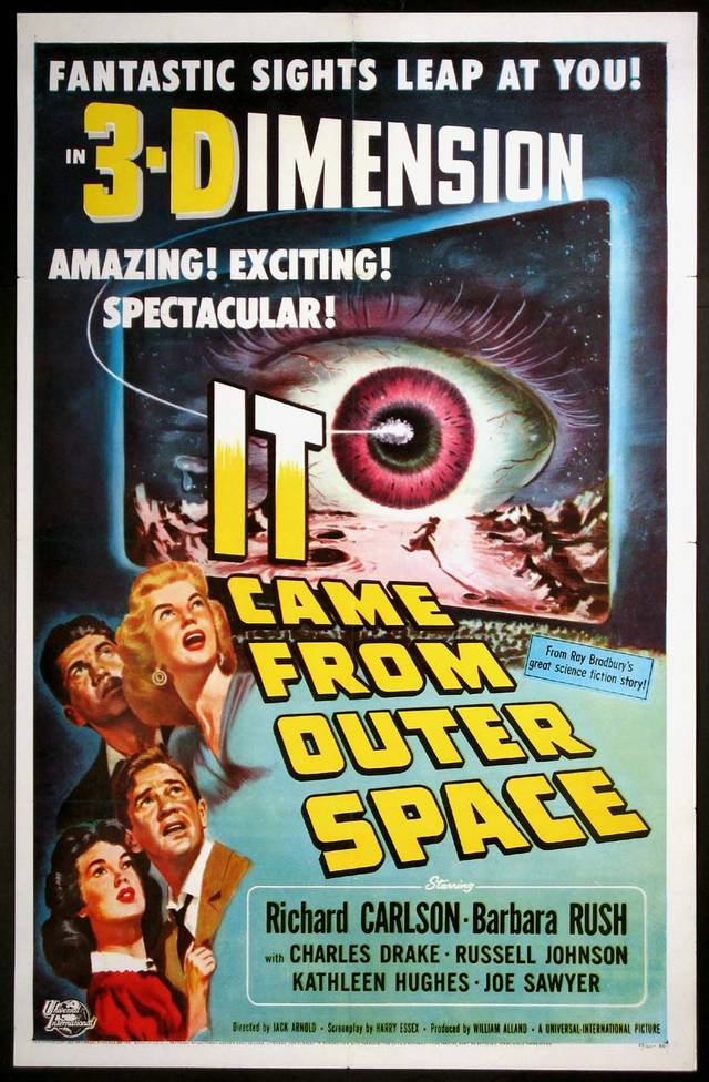 Destinazione Terra - It Came from Outer Space (1953) Poster USA
