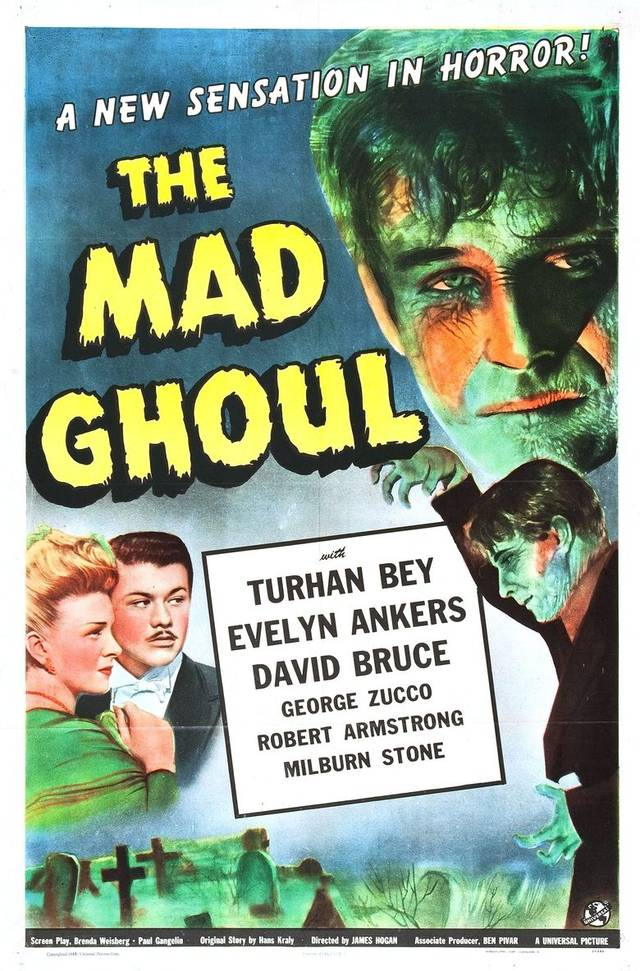 The Mad Ghoul (1943) Poster USA