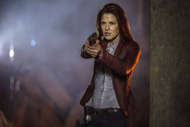 Resident Evil - The Final Chapter Ali Larter foto dal film 1