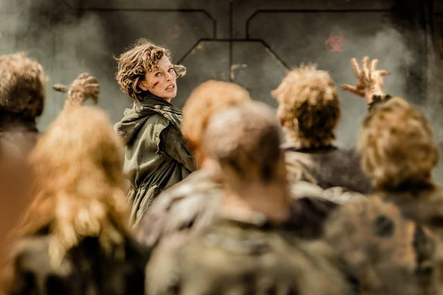 Resident Evil - The Final Chapter Milla Jovovich foto dal film 02