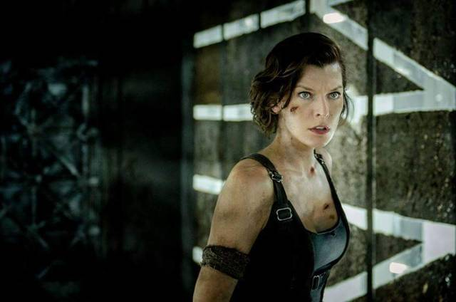 Resident Evil - The Final Chapter Milla Jovovich foto dal film 03