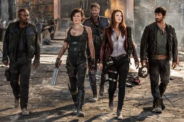 Resident Evil - The Final Chapter Rola Milla Jovovich Ali Larter Fraser James William Levy Eoin Macken Ruby Rose foto dal film 1