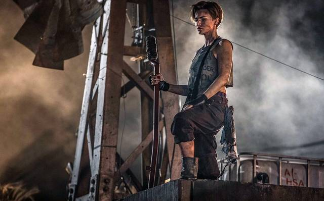 Resident Evil - The Final Chapter Ruby Rose foto dal film 2