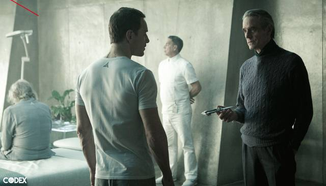 Assassin's Creed Jeremy Irons Michael Fassbender foto dal film 2