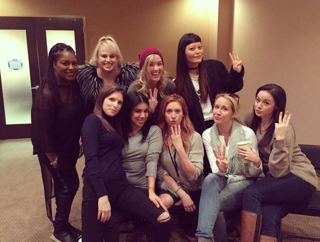 Il cast di Pitch Perfect 3