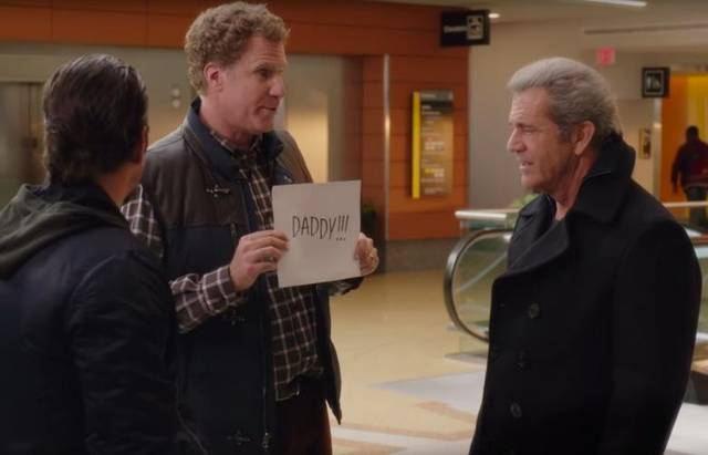 Daddy's Home 2 Mel Gibson Mark Wahlberg Will Ferrell foto dal film 3