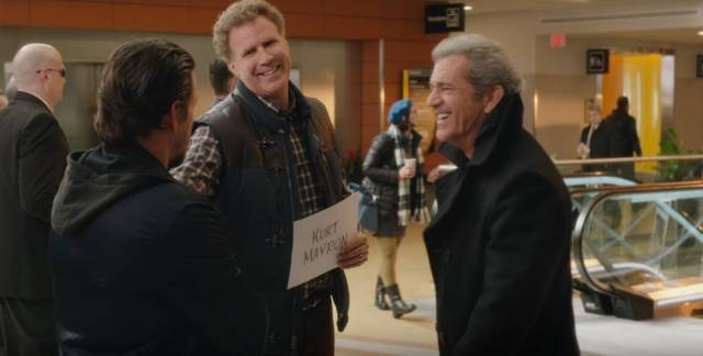 Daddy's Home 2 Mel Gibson Mark Wahlberg Will Ferrell foto dal film 4