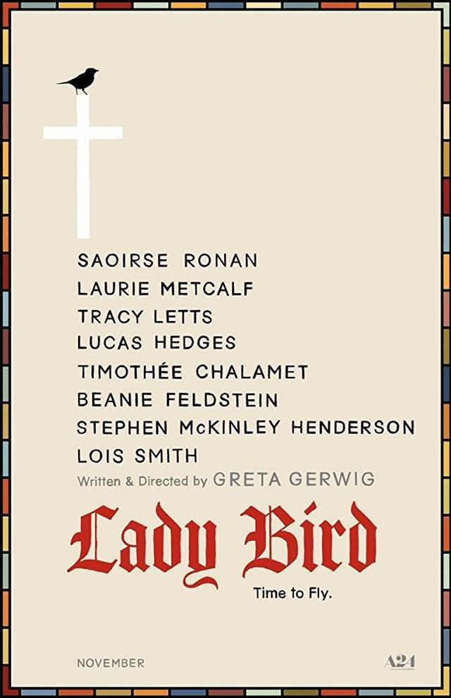 Lady Bird Teaser Poster USA