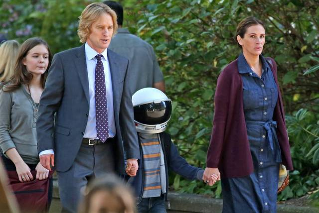 Wonder Julia Roberts Jacob Tremblay Owen Wilson Izabela Vidovic foto dal film 1