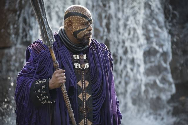 Black Panther Forest Whitaker foto dal film 2