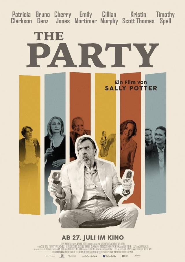 the party Teaser Poster UK 2
