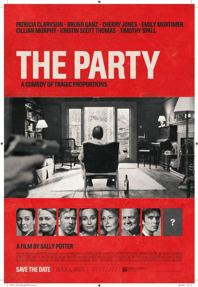 the party Teaser Poster UK 3
