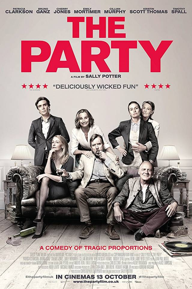 the party Poster UK
