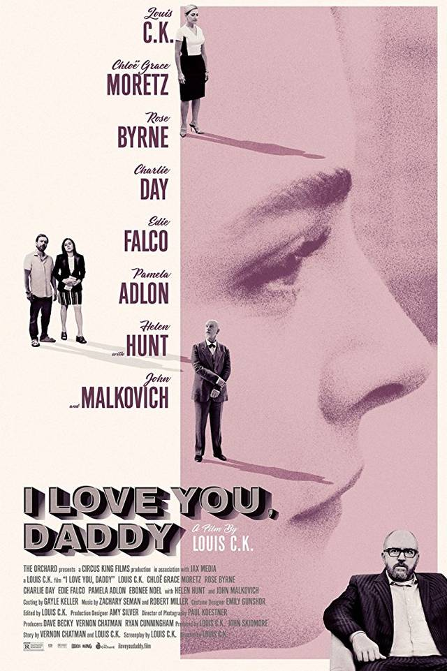 I Love You, Daddy Poster USA
