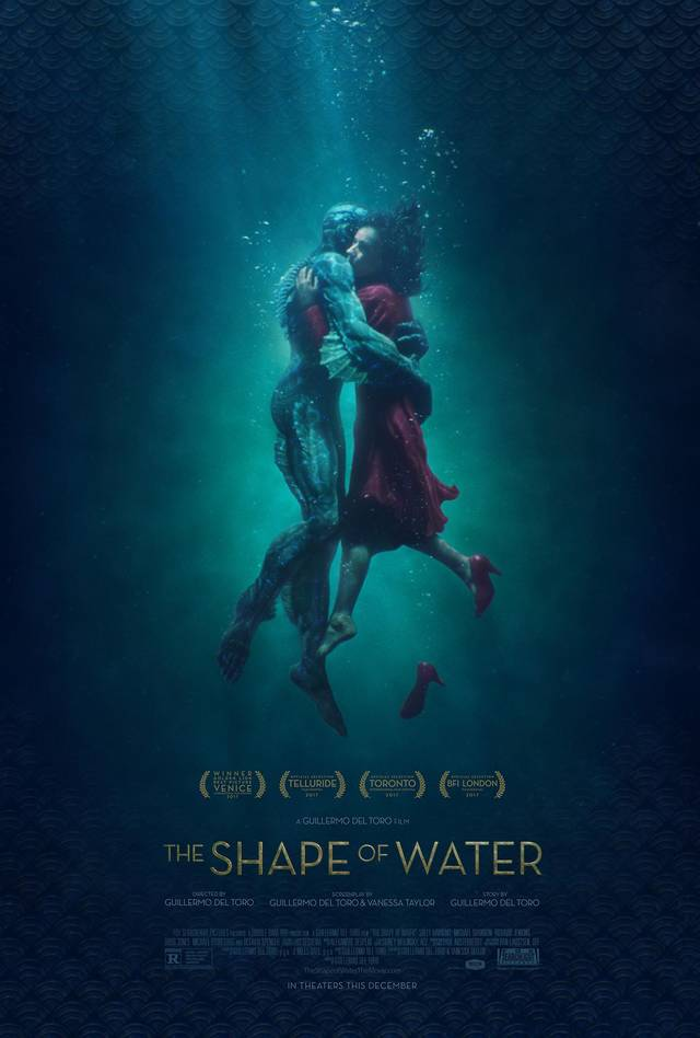 Il poster di The Shape of Water