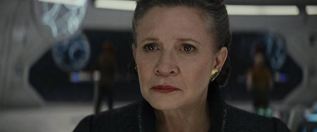 Star Wars - Gli Ultimi Jedi Carrie Fisher foto dal film 1