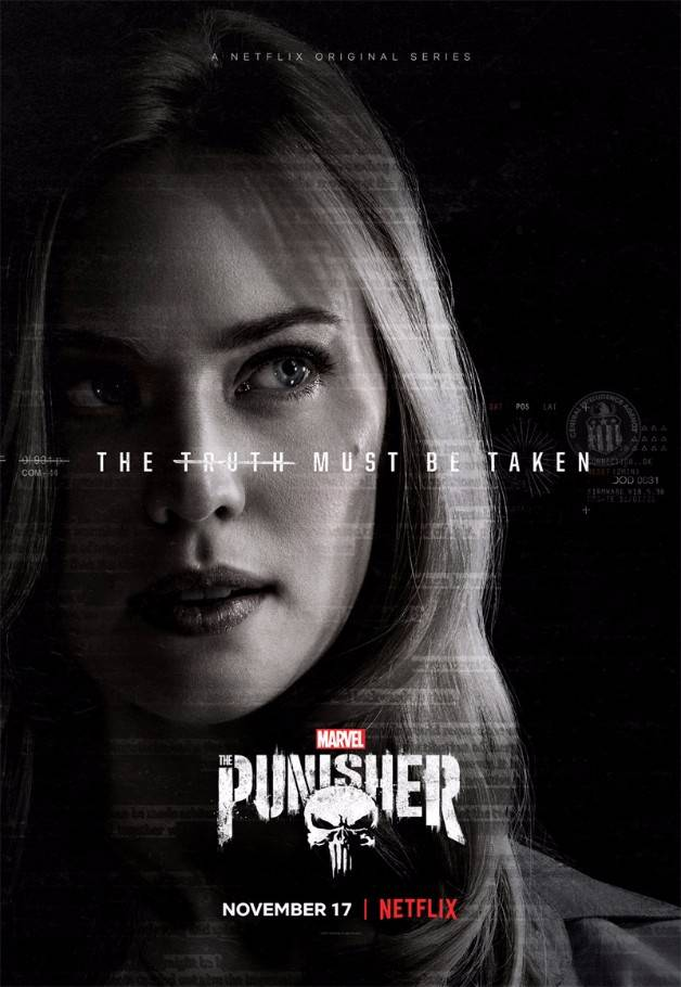 Punisher karen page poster mid