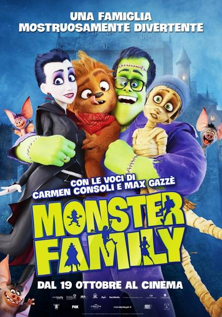 Monster Family Poster Italia