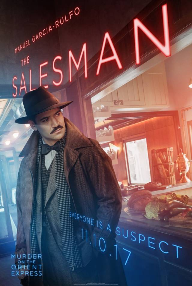 Assassinio sull'Orient Express Teaser Character Poster USA 15