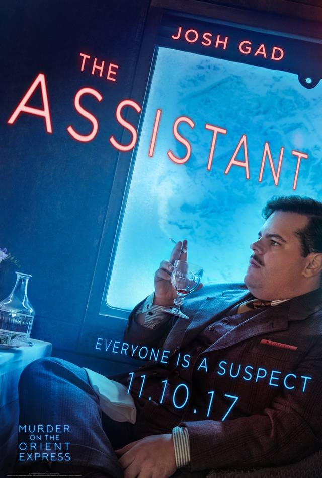 Assassinio sull'Orient Express Teaser Character Poster USA 16