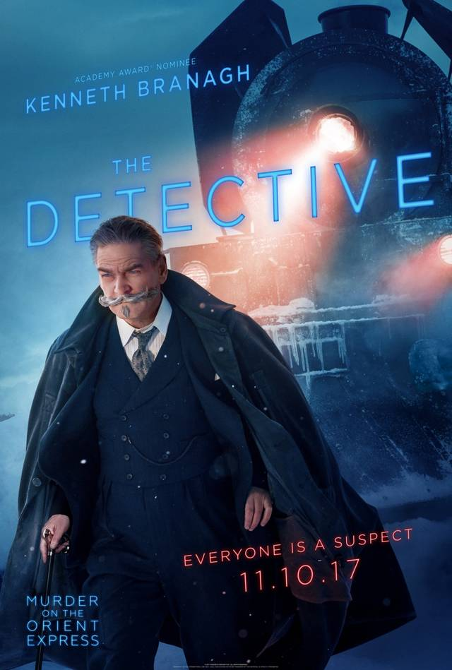 Assassinio sull'Orient Express Teaser Character Poster USA 2