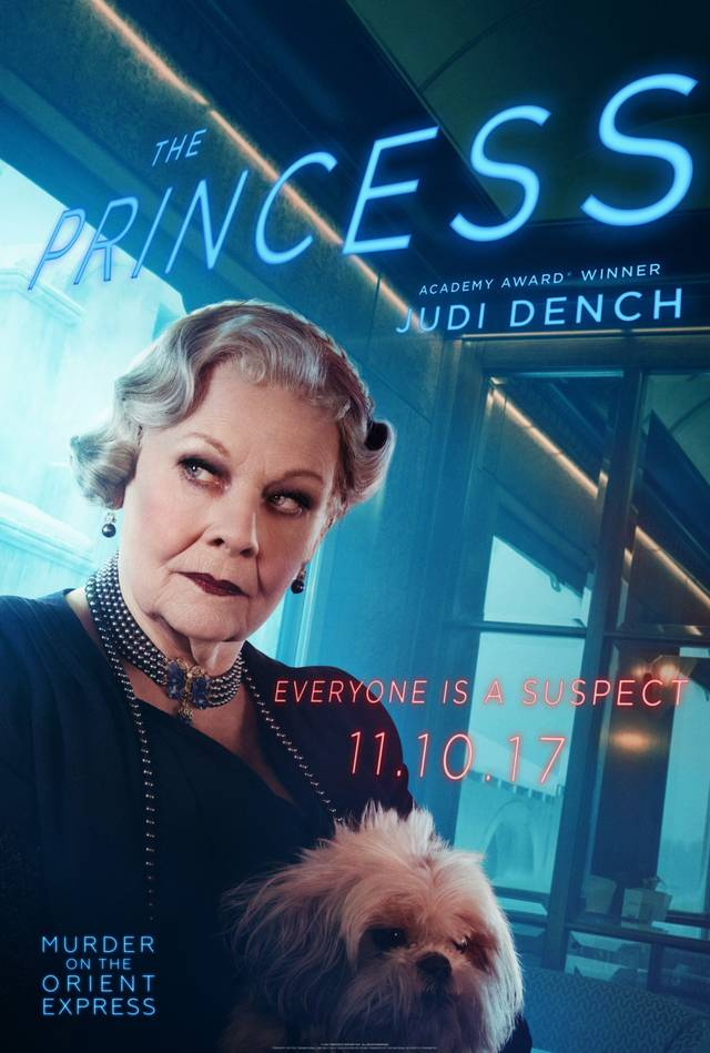 Assassinio sull'Orient Express Teaser Character Poster USA 3