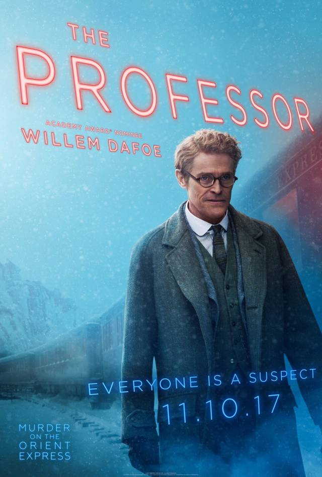 Assassinio sull'Orient Express Teaser Character Poster USA 6