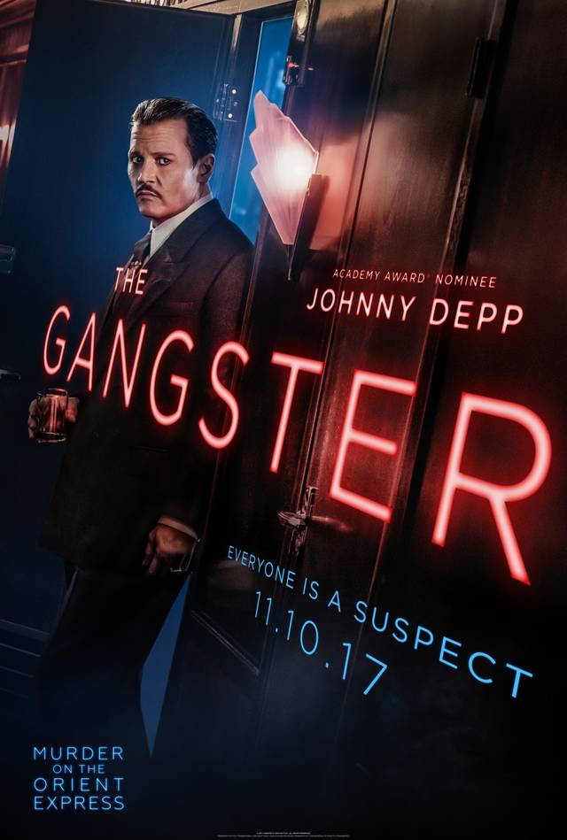 Assassinio sull'Orient Express Teaser Character Poster USA 8