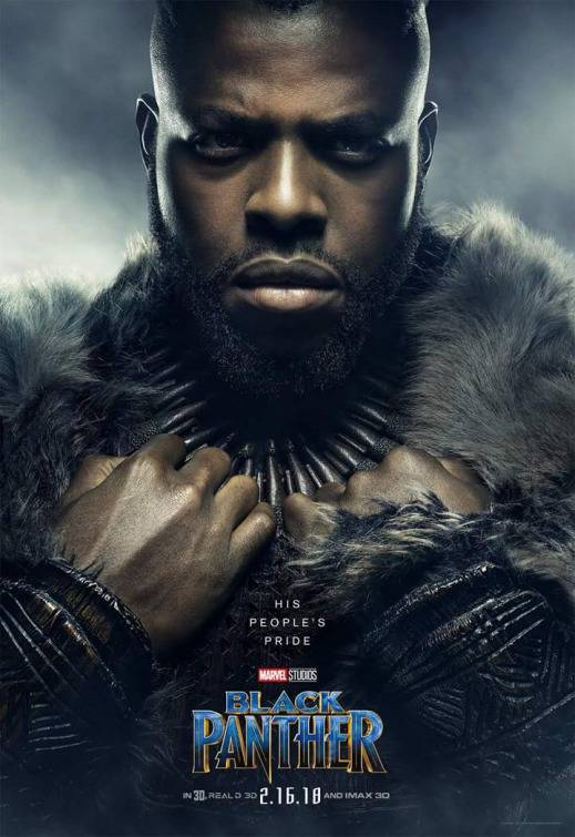 Black Panther Teaser Character Poster 3