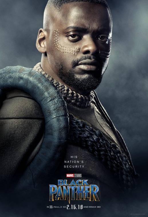 Black Panther Teaser Character Poster 4