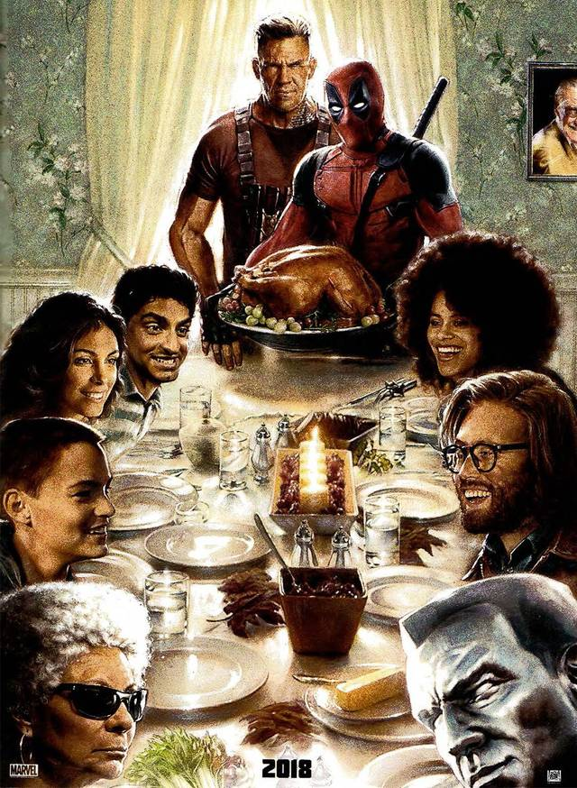 Deadpool 2 Teaser Poster USA