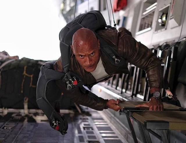 Rampage Dwayne Johnson foto dal film 3