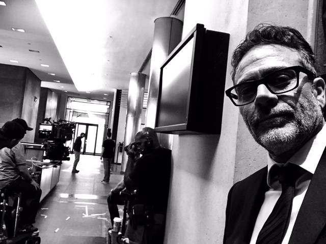 Rampage Jeffrey Dean Morgan foto dal set del film 1